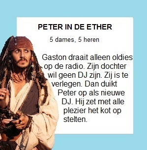 Peter in de ether